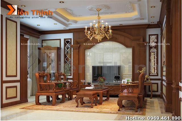 Thiết kế nội thất của biệt thự tân cổ điển 02 (1)