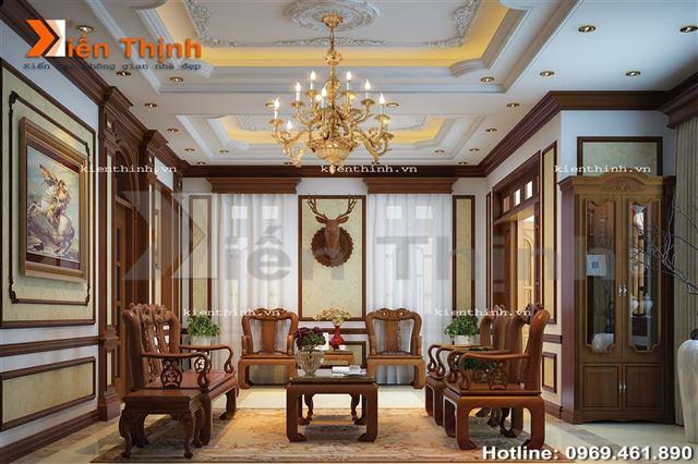 Thiết kế nội thất của biệt thự tân cổ điển 04