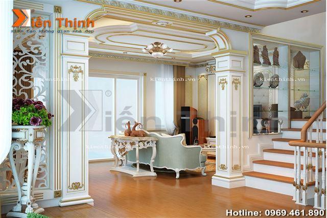 thiết kế nội thất phòng khách(1)