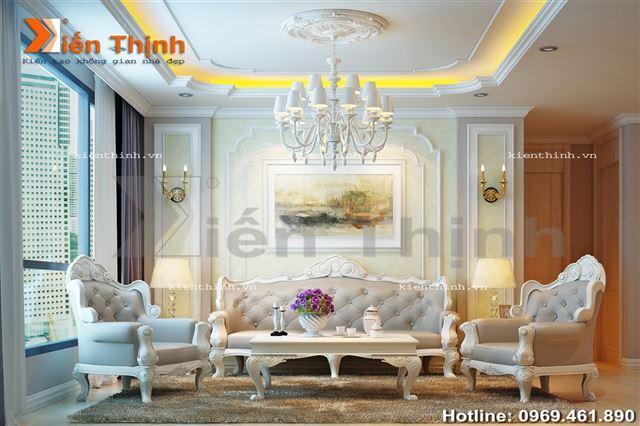 Thiết kế nội thất biệt thự đẹp 3 tầng 02