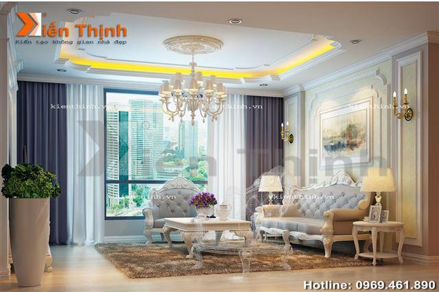 Thiết kế nội thất biệt thự đẹp 3 tầng 03