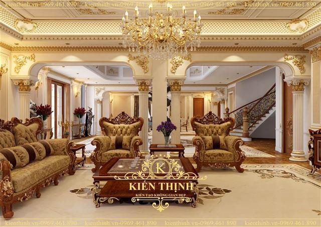 thiet-ke-noi-that-phong-khach-tan-co-dien-cua-biet-thu-3-tang-dep (3)