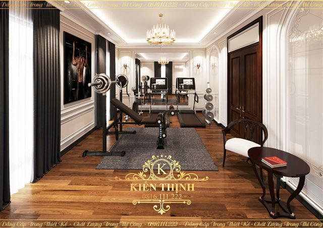 Thiết kế nội thất tân cổ điển nhẹ nhàng, tinh tế gia đình Anh Cường tại Hà Nội