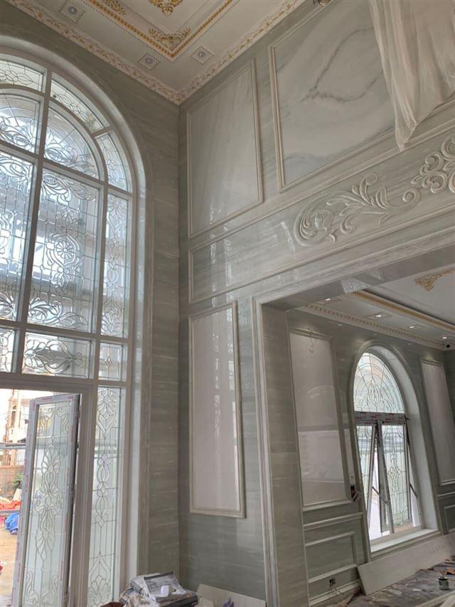 Thiết kế- Thi công biệt thự 3 tầng phong cách tân cổ điển