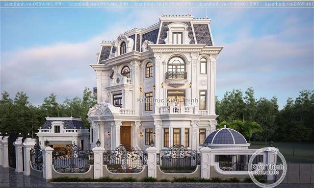 thiết kế biệt thự