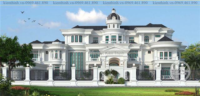 THiết kế dinh thự