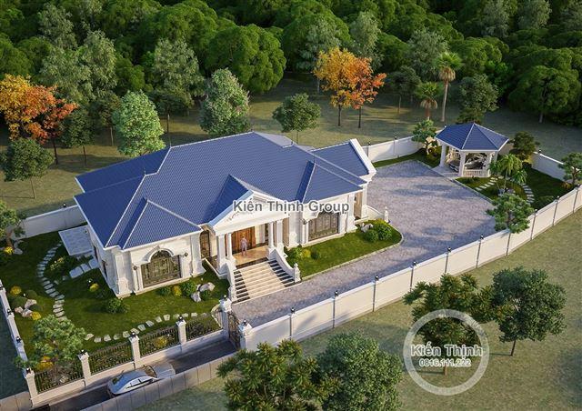 Mẫu biệt thự vườn theo phong cách tân cổ điển tại Sơn Tây